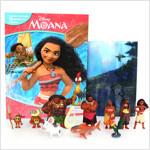 My Busy Books : Moana 모아나 비지북 (미니피규어 10개 + 놀이판)