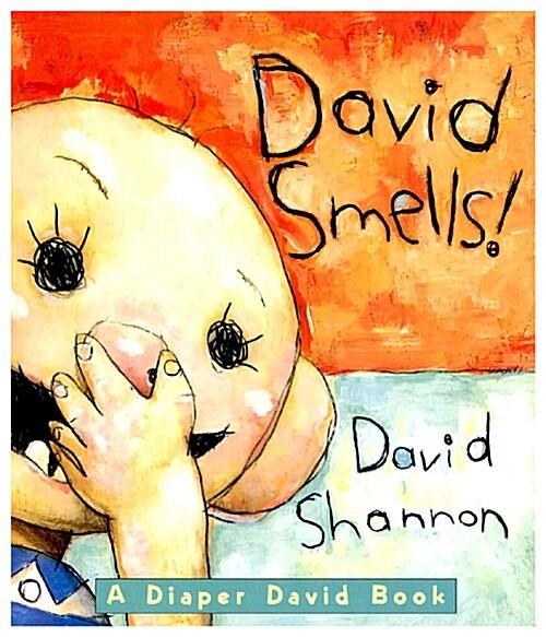David Smells! a Diaper David Book: A Diaper David Book (Board Books)