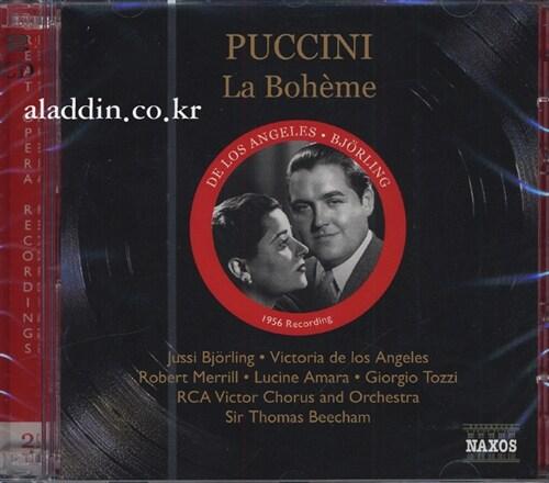 [수입] 푸치니 : 라 보엠 [1956 Recordings]