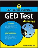 GED Test: 1,001 Practice Questions for Dummies (Paperback)