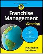 Franchise Management for Dummies (Paperback)