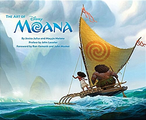 The Art of Moana: (moana Book, Disney Books for Kids, Moana Movie Art Book) (Hardcover)