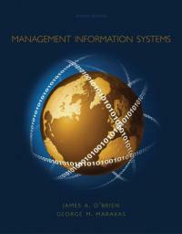 Management information systems 7th ed