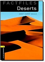 Oxford Bookworms Library Factfiles: Level 1:: Deserts audio CD pack (Paperback)