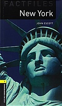 Oxford Bookworms Library Factfiles: Level 1:: New York audio CD pack (Package)