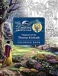 Disney Dreams Collection Thomas Kinkade Studios Coloring Book (Paperback)
