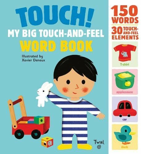 Touch! My Big Touch-and-Feel Word Book (Hardcover)