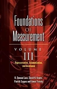 Representation, Axiomatization, and Invariance (Paperback)