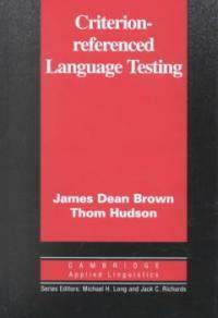 Criterion-referenced language testing