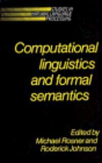 Computional linguistics and formal semantics