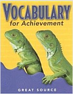 Great Source Vocabulary for Achievement: Student Edition Grade 3 2000 (Paperback)