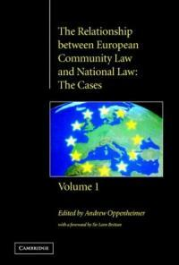 The relationship between European Community law and national law: the cases