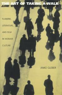 The art of taking a walk : flanerie, literature, and film in Weimar culture