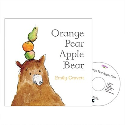 Pictory Set IT-08 / Orange Pear Apple Bear