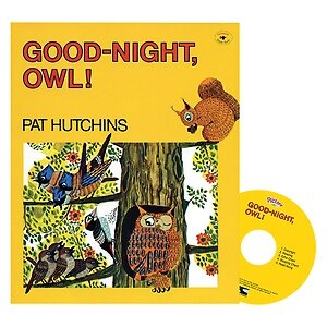Pictory Set 2-06 / Good-Night, Owl! (Paperback + Audio CD)