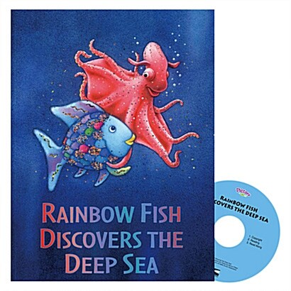 Pictory Set 3-21 / Rainbow Fish Discovers the Deep (Book + Audio CD)