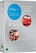 카 + 인크레더블 패키지 (3disc)