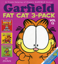 Garfield Fat Cat 3-Pack #13: A Triple Helping of Classic Garfield Humor (Paperback, Colorized)