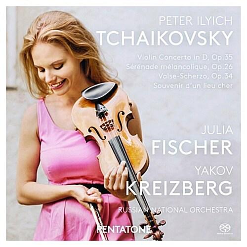 [수입] 차이콥스키 : 바이올린 협주곡 Op. 35, 우울한 세레나데, 그리운 마을의 추억 외 [SACD Hybrid]