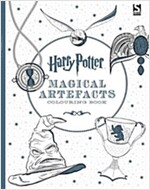Harry Potter Magical Artefacts Colouring Book 4 (Paperback)