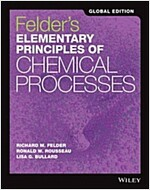 Elementary Principles of Chemical Processes (Paperback, 4th Edition International Student Version)