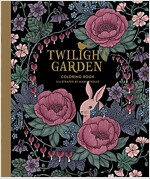 Twilight Garden Coloring Book: Published in Sweden as Blomstermandala (Hardcover)