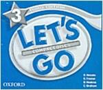 (3판)Let's Go 3: Audio CD (CD-Audio 3장, 3rd Edition)