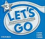 [3판] Lets Go: 3: Audio CD (CD-Audio 3장, 3rd Edition)