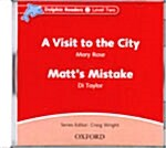 Dolphin Readers: Level 2: A Visit to the City & Matts Mistake Audio CD (CD-Audio)