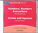 Dolphin Readers: Level 2: Numbers, Numbers Everywhere & Circles and Squares Audio CD (CD-Audio)