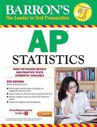 Barron's AP Statistics (Paperback, 9)