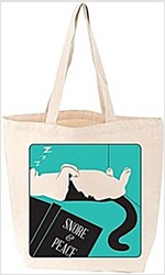 Snore and Peace Cat Tote (Other)