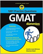 GMAT: 1,001 Practice Questions for Dummies (Paperback)