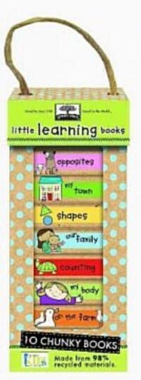 [중고] Little Learning Books: 10 Chunky Books (Boxed Set)
