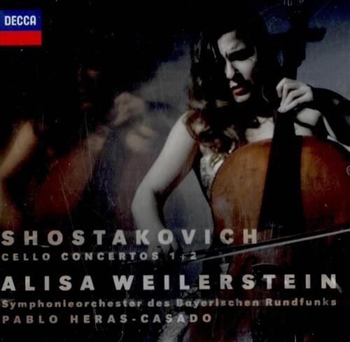 [수입] 쇼스타코비치 : 첼로 협주곡 1, 2번
