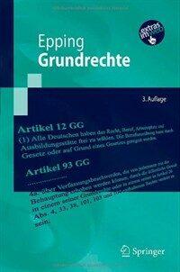 Grundrechte 3., aktualisierte und bearb. Aufl