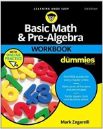 Basic Math and Pre-Algebra Workbook for Dummies (Paperback, 3)