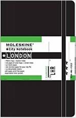 Moleskine City Notebook - London, Pocket, Black, Hard Cover (3.5 X 5.5) (Imitation Leather)