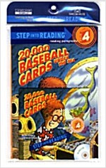 Step into Reading 4: 20,000 Baseball Cards Under the Sea (Paperback + CD 1장)