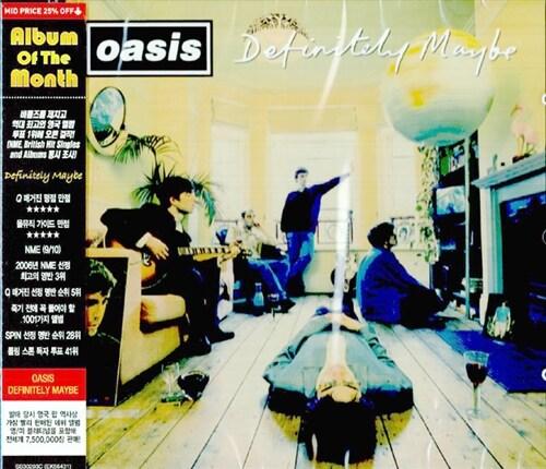 Oasis - Definitely Maybe (Mid Price 재발매)