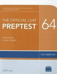 The Official LSAT Preptest 64: (oct. 2011 Lsat) (Paperback)