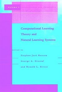 Computational learning theory and natural learning systems. v.3, : Selecting good models