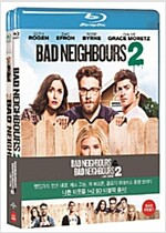 [블루레이] 나쁜 이웃들 더블팩 : 나쁜 이웃들 & 나쁜 이웃들 2 (2disc)