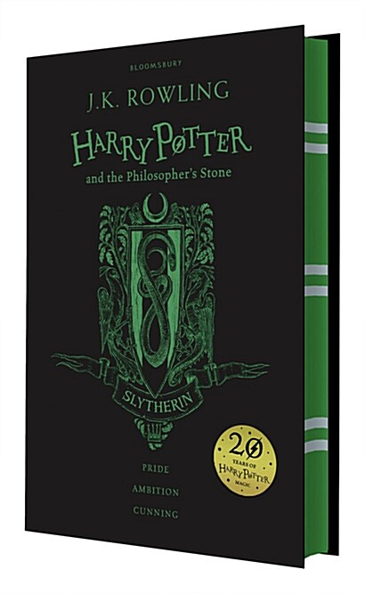 Harry Potter and the Philosophers Stone - Slytherin Edition (Hardcover, 영국판)