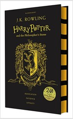Harry Potter and the Philosopher's Stone - Hufflepuff Edition (Hardcover, 영국판)
