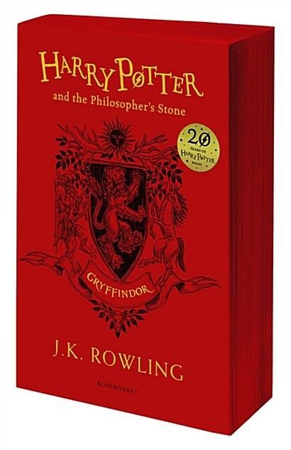 Harry Potter and the Philosophers Stone - Gryffindor Edition (Paperback, 영국판)