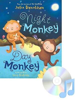 Pictory Set 1-25 / Night Monkey Day Monkey (Paperback + Audio CD)