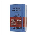 Moleskine Limited Edition Alice in Wonderland, 12 Month Weekly Planner, Pocket, Blue (3.5 X 5.5) (Desk)