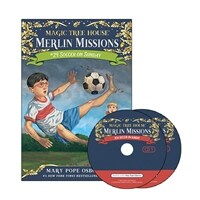 Merlin Mission #24 : Soccer on Sunday (Paperback + CD