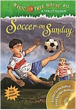 Magic Tree House #52: Soccer on Sunday (PB+CD) (Paperback + CD)